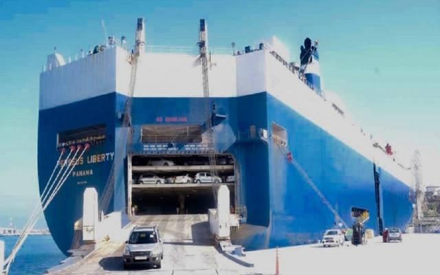 سفينة دحرجة سيارات ـ أرشيفية