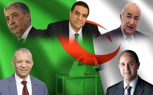 مرشحو الرئاسة في الجزائر