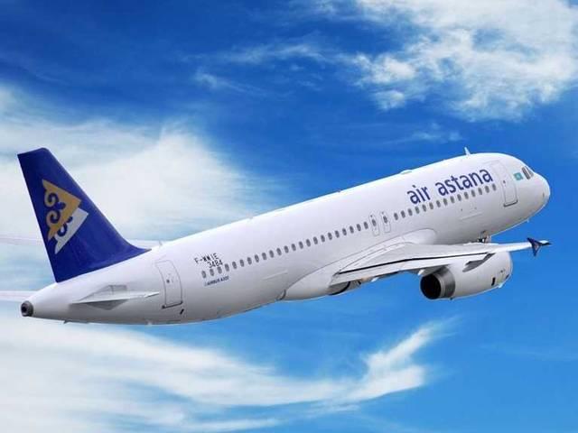 طائرة تابعة لطيران أستانا