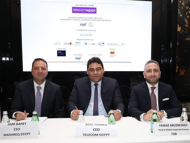 First Abu Dhabi Bank (FAB) and Mashreq Bank acted as joint coordinators