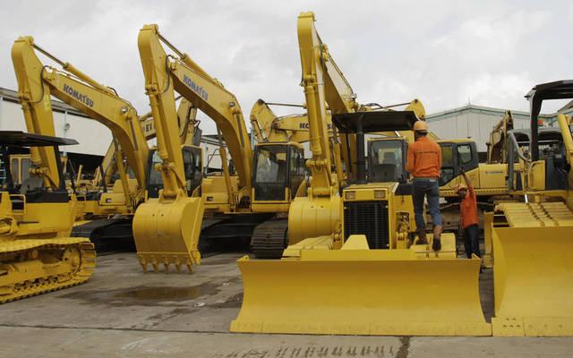 إيجار الآلات والمعدات الثقيلة أحد أنشطة الشركة
