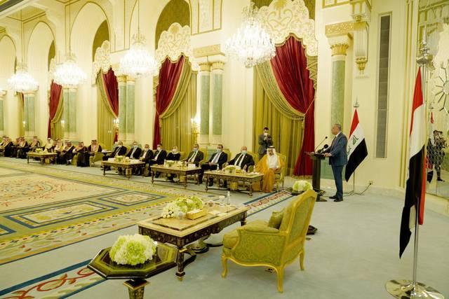 الكاظمي: العراق قطع أشواطاً جيدة لوضع أساس للعلاقات الاقتصادية مع السعودية