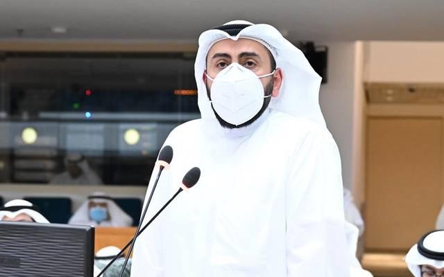 وزير الصحة باسل الحمود الصباح