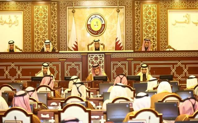 خلال انعقاد مجلس الشورى القطري