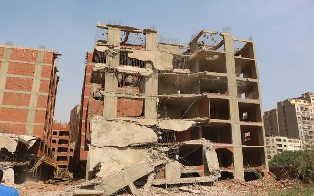 """القاهرة: إزالة 516 عقاراً بعزبة الهجانة وتسكين أصحابها بمشروع """"أهالينا"""""""