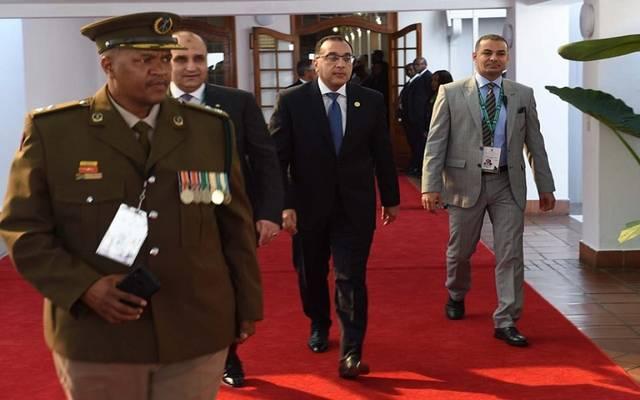 رئيس الوزراء متوجها لحضور مراسم تنصيب رئيس جنوب إفريقيا