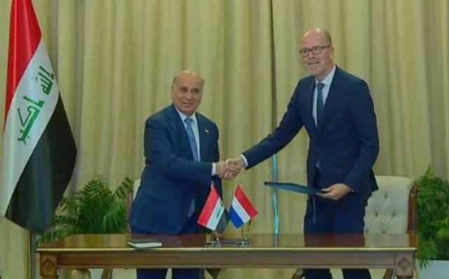 خلال توقيع اتفاقية تجنب الازدواج الضريبي بين العراق وهولندا