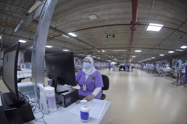 أحد مراكز علاج الإصابة بفيروس كورونا في البحرين