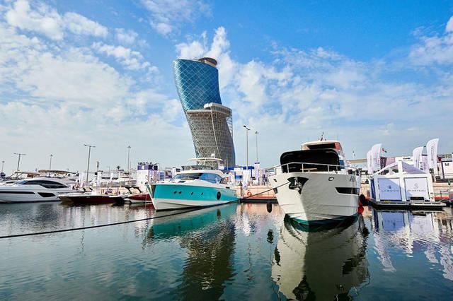 معرض أبوظبي الدولي للقوارب يستضيف 26 ألف زائر