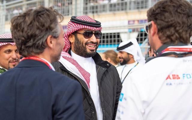 ولي العهد السعودي يشهد افتتاح البطولة