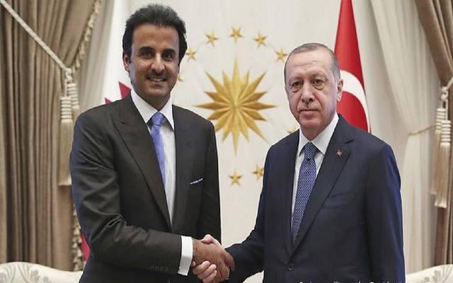 لقاء بين أمير قطر والرئيس التركي ـ أرشيفية