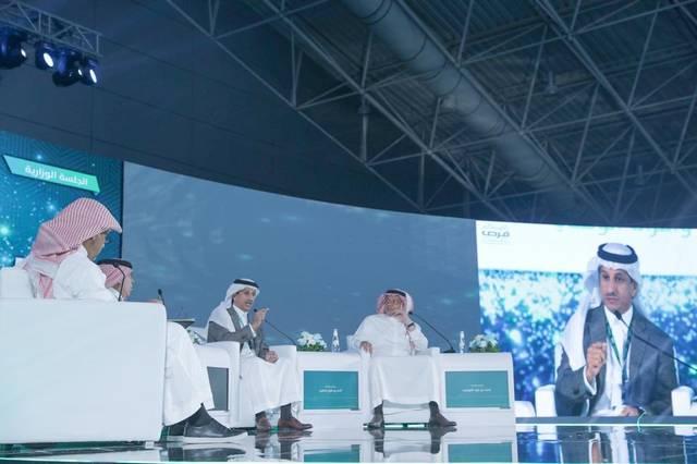 جانب من كلمة رئيس مجلس إدارة الهيئة العامة للسياحة السعودية، أحمد الخطيب خلال ملتقى الاستثمار البلدي