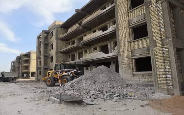 مجمع سكني تنفذه وزارة الإعمار والإسكان العراقية في كربلاء
