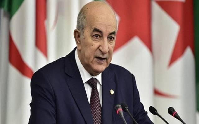 الرئيس الجزائري - عبدالمجيد تبون