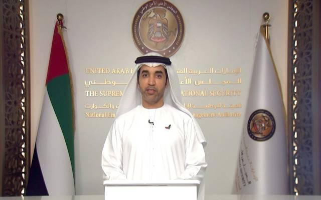 سيف الظاهري المتحدث الرسمي عن الهيئة الوطنية لإدارة الطوارئ والأزمات والكوارث بالإمارات