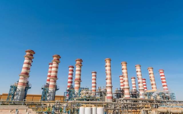 أحد مشروعات الكهرباء والماء القطرية