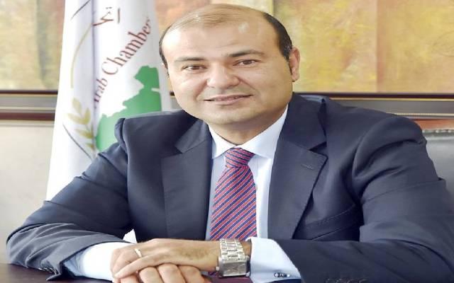 خالد حنفي أمين اتحاد الغرف العربية بجامعة الدول
