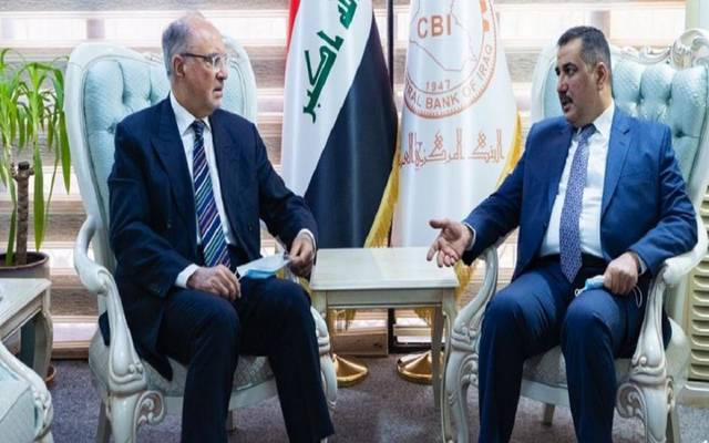 """Governor of the Iraqi Central Committee coordinates with the """"financial"""" ways to confront the repercussions of Corona"""