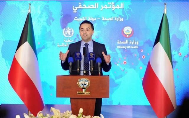 المتحدث الرسمي باسم وزارة الصحة الكويتية، عبدالله السند