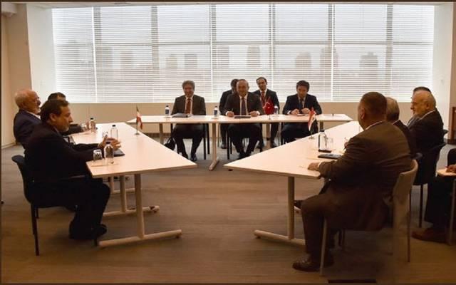 وجه وزراء خارجية الدول الثلاثة دعوتهم للمجتمع الدولي لأن يتخذ دوره بهذا الشأن