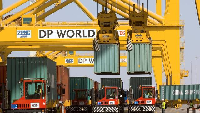 This rating reflects DP World's diversified operations