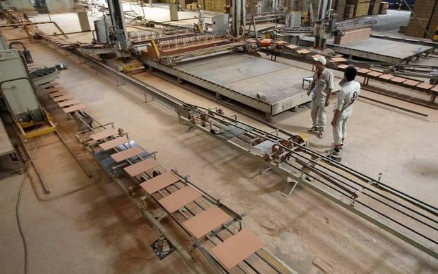 مصنع تابع لشركة الخزف السعودي