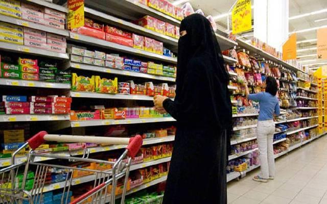 أحد محلات التجزئة بالسعودية