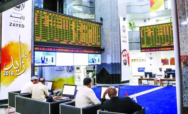 The general index of the Abu Dhabi Securities Exchange (ADX) settled higher by 0.14% on Sunday.