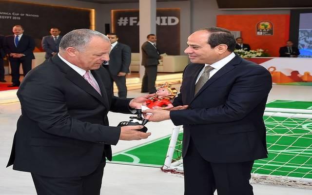 السيسي يتفقد الاستعدادات التنظيمية لبطولة كأس الأمم الأفريقية 2019