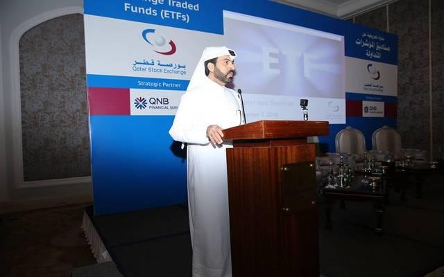 الرئيس التنفيذي لبورصة قطر راشد المنصوري