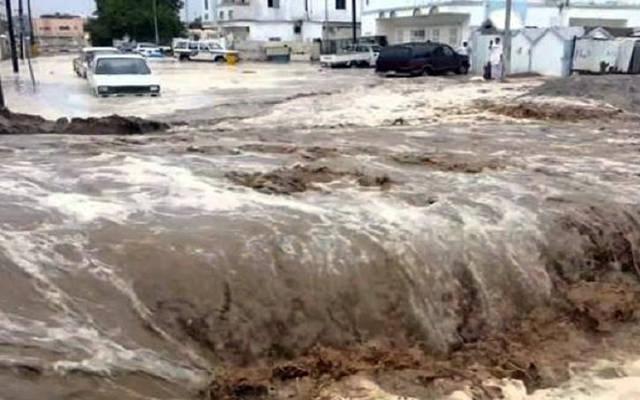 السيول في الشوارع العراقية