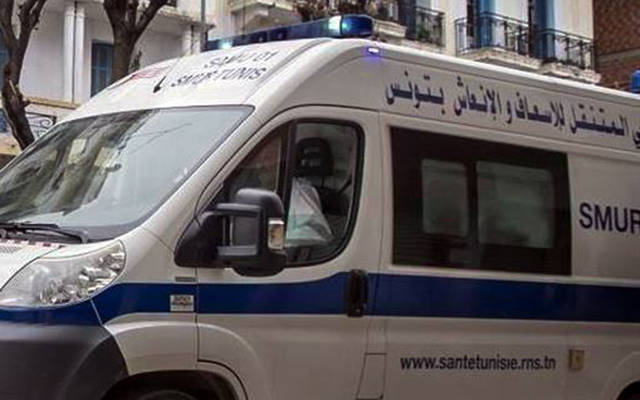 سيرة إسعاف تابعة لوزارة الصحة التونسية