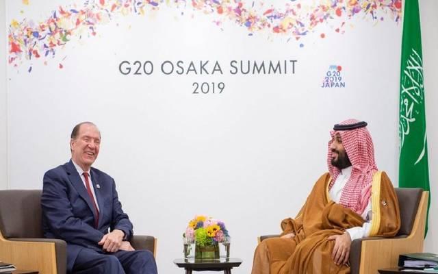 السعودية والبنك الدولي يبحثان التعاون باستعدادات المملكة لاستضافة قمة العشرين