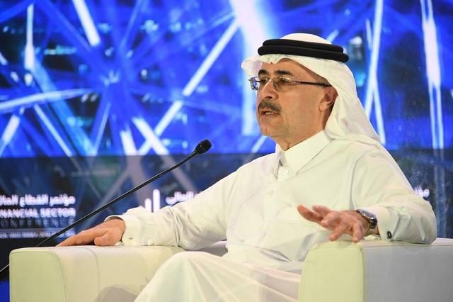 أمين الناصر، رئيس شركة أرامكو السعودية خلال المؤتمر
