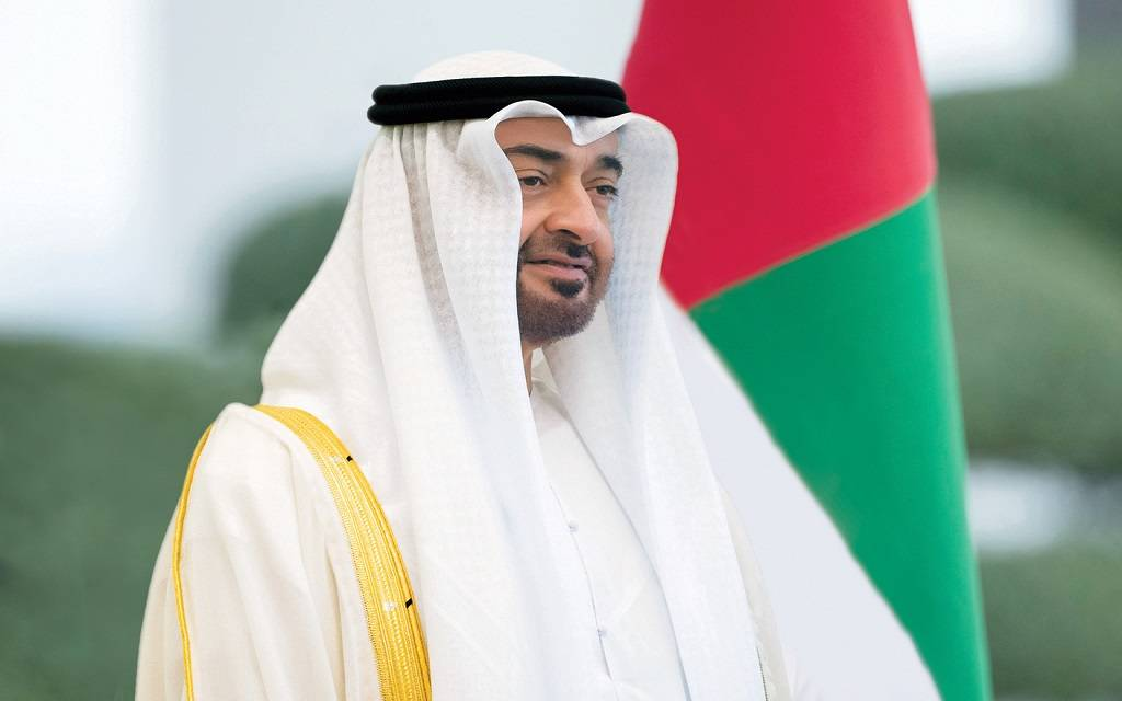 """Mohamed bin Zayed discusses with the President of """"Iraqi Kurdistan"""" the development of economic and investment cooperation 1024"""