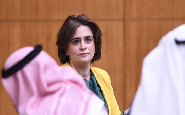 غدیر إسیري، وزیرة الشؤون الاجتماعیة في الكويت