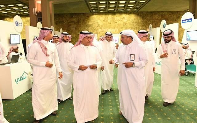 """على هامش تدشين وزارة المالية السعودية لمعرض """"سكني"""" في الرياض"""