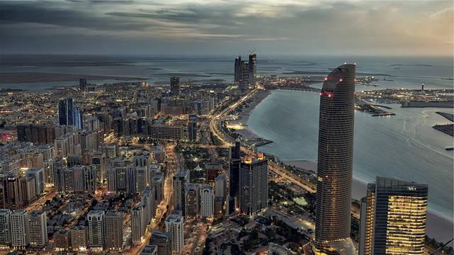 أحد المناطق السياحية بإمارة أبوظبي