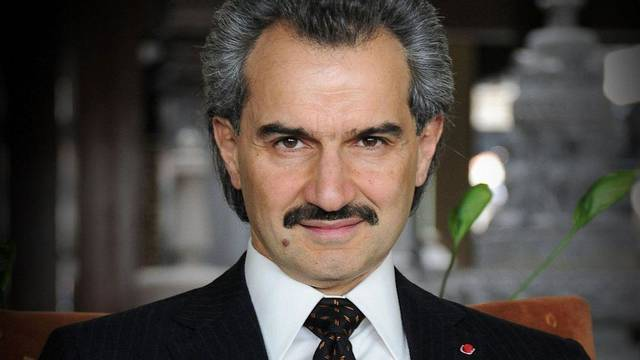 Alwaleed has topped the same list for nine years in a row