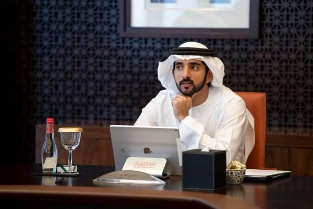 الشيخ حمدان بن محمد بن راشد آل مكتوم، ولي عهد دبي رئيس المجلس التنفيذي لإمارة دبي