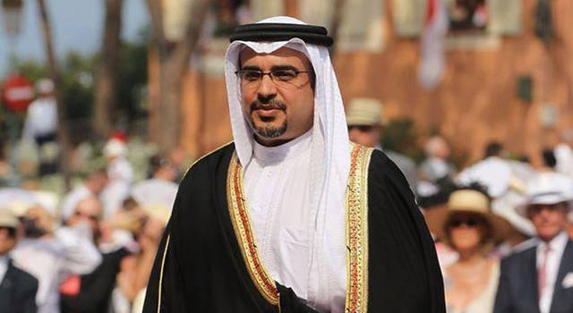 الأمير سلمان بن حمد آل خليفة، ولي العهد نائب القائد الأعلى النائب الأول لرئيس مجلس الوزراء في البحرين