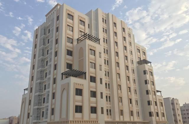 صورة أرشيفية لمساكن تم بناؤها في وقت سابق في البحرين