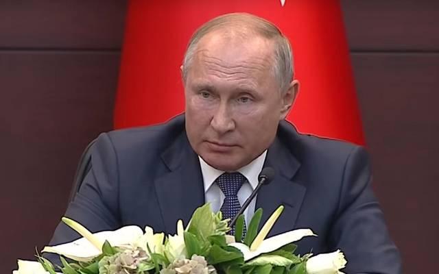 الرئيس الروسي فلادمير فوتين