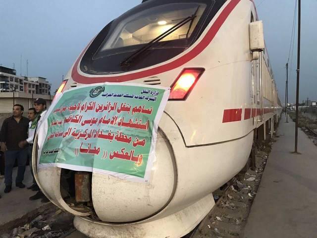 معدل تسيير الرحلات رفع معدلات أعداد المسافرين المتنقلين بين بغداد والبصرة وبالعكس