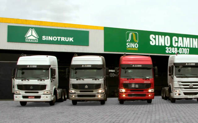 الشركة الصينية متخصصة في تصنيع الشاحنات والجرارات العملاقة