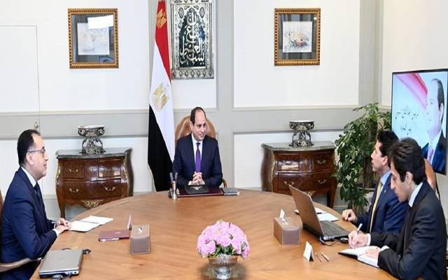 السيسي يطلب تصوراً متكاملاً لإنشاء وتطوير المنشآت الرياضية في مصر