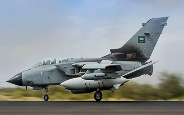 طائرة حربية.. الصورة من وزارة الدفاع السعودية- أرشيفية
