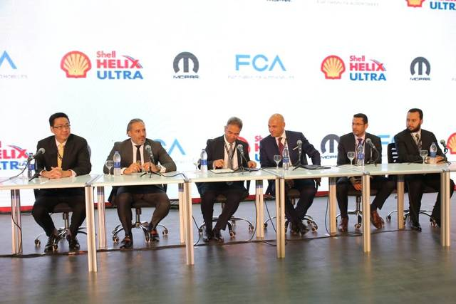 Shell Egypt posted new partnership with FCA Egypt