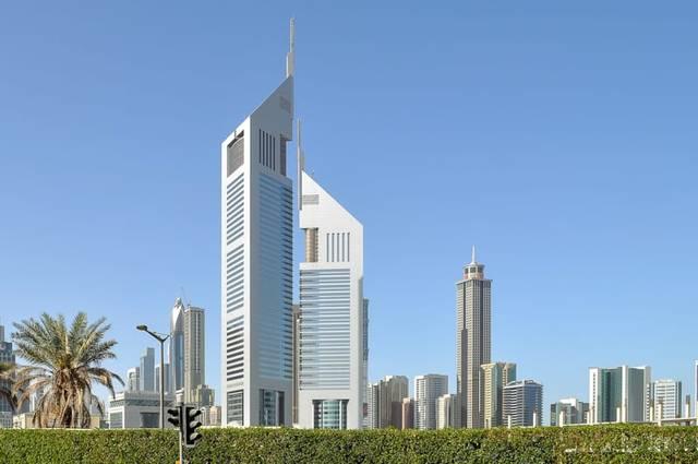 منطقة شارع الشيخ زايد بإمارة دبي