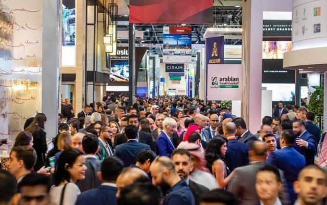 جانب من فعاليات سابقة في معرض سوق السفر العربي